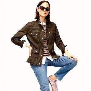 J. Crew 100% Cotton Women's Jacket - M/L